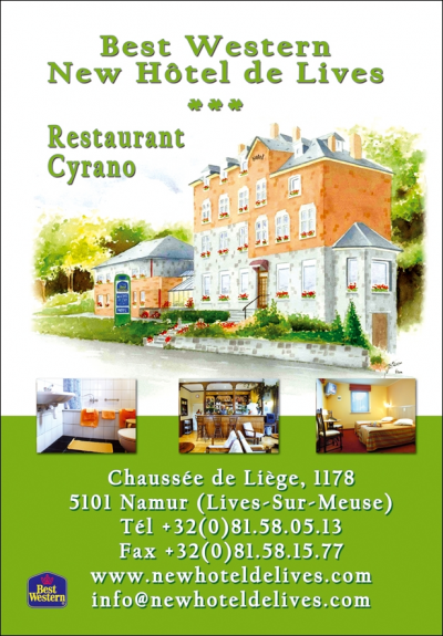 Best Western New Hotel De Lives - Namur/Namen - Belgium
