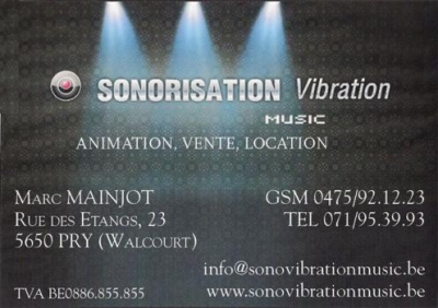 Sonorisation Vibration Music